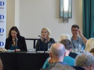 Kate Forsyth, Jenny Blackford, & John Hughes